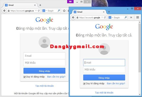 Đăng nhập nhiều tài khoản Gmail