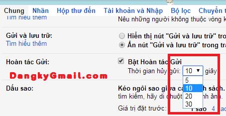 Hủy & thu hồi email đang gửi với Gmail