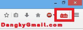 Kiểm tra thư Gmail không cần đăng nhập trên Firefox