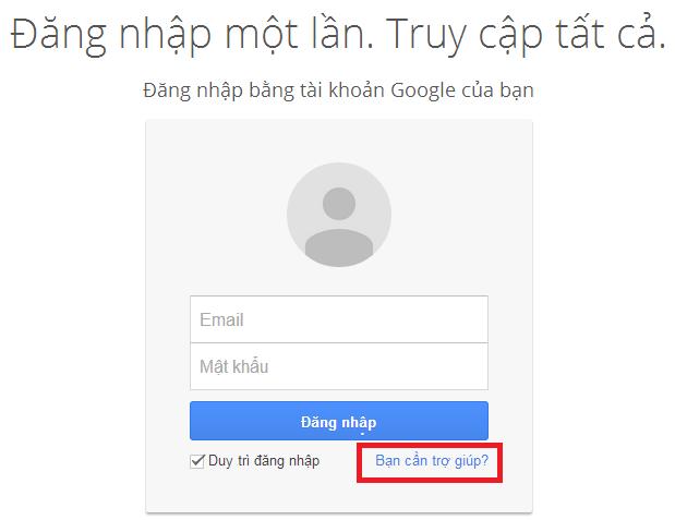 Quên mật khẩu Gmail - Cách lấy lại mật khẩu Gmail nhanh nhất