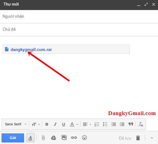 Hướng dẫn cách gửi tập tin bằng Gmail lên tới 15 GB