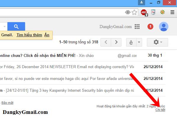 Đăng xuất Gmail khỏi tất cả các phiên đăng nhập trên mọi thiết bị